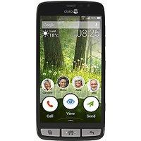 Doro Liberto 825 Smartphone, Android, 5, 4G LTE, SIM Free, 8GB, Black