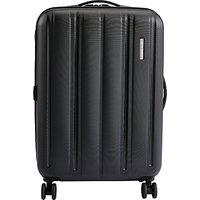 John Lewis Munich 4-Wheel 67cm Suitcase, Black