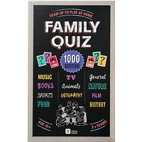 Talking Tables Family Quiz Game