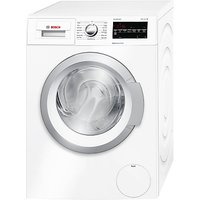 Bosch WAT28420GB Freestanding Washing Machine, 8kg Load, A+++ Energy Rating, 1400rpm Spin Speed, White