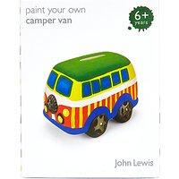 John Lewis Paint Your Own Camper Van Money Box