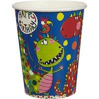 Rachel Ellen Dinosaur Cups, Pack of 8
