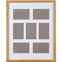 John Lewis Multi-aperture Box Photo Frame, 7 Photo, 4 x 6 (10 x 15cm)