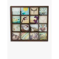 Umbra Multi-aperture Gridart Photo Display, 16 Photo, 4 x 4 (10 x 10cm)