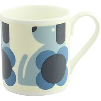 Orla Kiely Dog Mug, Blue