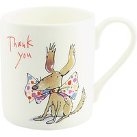 McLaggan Smith Quentin Blake Thank You Dog Mug