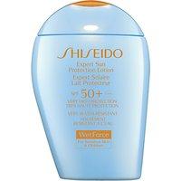 Shiseido WetForce Expert Sun Protection Lotion, SPF50+, 100ml