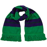 Pointer School Scarf, Purple/Green