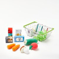 John Lewis & Partners Fabric Food In a Basket