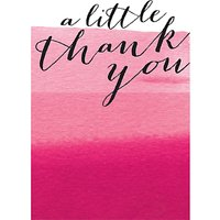 Caroline Gardner Thank You Ombre Notecards, Pack Of 10