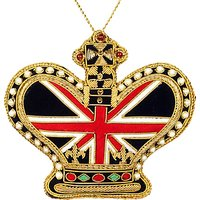 Tinker Tailor Tourism Union Jack Crown ER Bauble