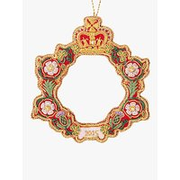 Tinker Tailor Tourism Royal Wreath Tree Decoration