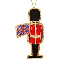 Tinker Tailor Tourism Soldier With Flag Tree Decoration