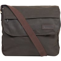 Barbour Wax Cotton City Messenger, Olive