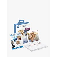 HP Social Media Snapshot Sticky Photo Paper, 25 Sheets