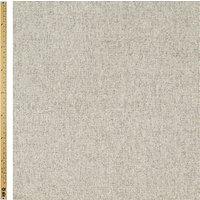 John Lewis Herringbone Fabric, Pale Grey