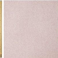 John Lewis Herringbone Fabric, Pale Pink