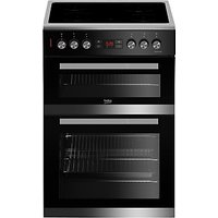Beko JDC673X Electric Cooker, Stainless Steel