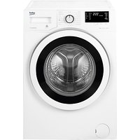 Beko WY85242W Freestanding Washing Machine, 8kg Load, A+++ Energy Rating, 1500rpm Spin, White