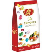 Jelly Belly 50 Flavours Jelly Beans, 200g