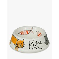 Gallery Thea Personalised Cat Bowl