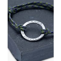Chambers & Beau Personalised Mens Halo Rope Bracelet