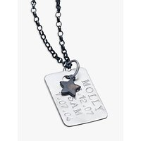 Chambers & Beau Personalised Mens Dog Tag Necklace