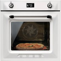 Smeg SFP6925BPZE Built-In Single Electric Oven, White