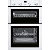 Neff U14M42W5GB Built-In Double Oven, White