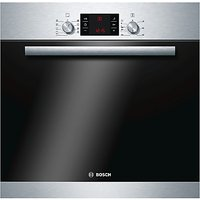 Bosch HBA53R150B Integrated Single Oven, Stainless Steel