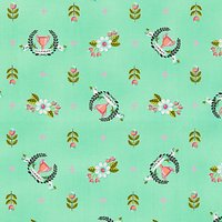 Freespirit Winners Circle Print Fabric, Green