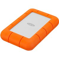 LaCie Rugged Mini Drive, 1TB, Orange