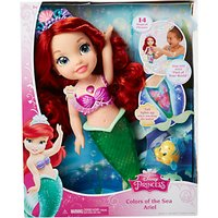 Disney Princess Colours Of The Sea Ariel Bath Toy