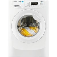 Zanussi ZWF01487W Freestanding Washing Machine, 10kg Load, A+++ Energy Rating, 1400rpm Spin, White