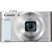 Canon PowerShot SX620 Digital Camera, HD 1080p, 20.2MP, 25x Optical Zoom, Wi-Fi, NFC, 3 Screen
