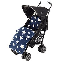 John Lewis Baby Multi Star Pushchair Footmuff