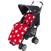 John Lewis Baby Multi Star Pushchair Footmuff