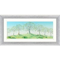 Catherine Stephenson - Hope Orchard Embellished Framed Print, 112 x 57cm
