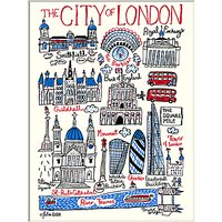 Julia Gash - The City Of London Unframed Print with Mount, 30 x 40cm