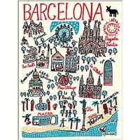 Julia Gash - Barcelona Unframed Print with Mount, 30 x 40cm