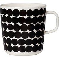 Marimekko Rasymatto Mug, 400ml, Black