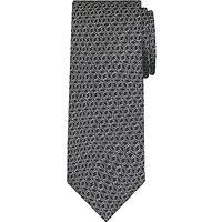 Daniel Hechter 3D Cube Woven Silk Tie