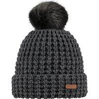 shop for Barts Bonnie Beanie Hat, One Size, Dark Grey Heather at Shopo