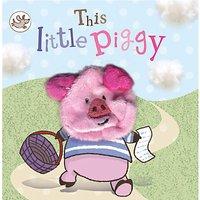 This Little Piggy Puppet Children's Board Book