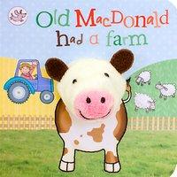 Old Macdonald Had A Farm Puppet Children's Board Book