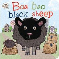 Baa Baa Black Sheep Puppet Children's Board Book