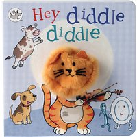 Hey Diddle Diddle Puppet Children's Board Book