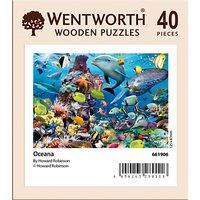 Wentworth Wooden Puzzles Oceana Mini Jigsaw Puzzle, 40 pcs