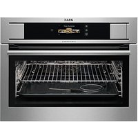 AEG KS845680GM Built-In Multifunction Oven with Steam, Stainless Steel