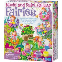 Mould & Paint Glitter Fairies Kit